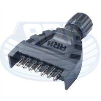 ARK MAGNETIC 7 PIN TRAILER PLUG FLAT PLASTIC FPP7