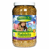 Verm-X Herbal Nuggets For Rabbits, Guinea Pigs & Hamsters - 1.5 KG TUB  [R 1.5]