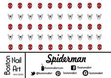 Spiderman Waterslide Nail Decal - 50 PC - BNA-20002