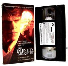 "Matt Damon ""The Talented Mr. Ripley (1999)"" Suspense/Drama (Vhs Tape, 2000)"