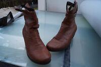 RIEKER Damen Winter Schuhe Stiefel Stiefelette Boots Gr.40 braun gefüttert