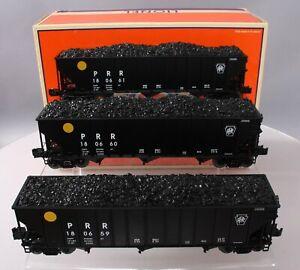 Lionel 6-11891 Pennsylvania 3-Bay Open Hopper Car Set EX/Box