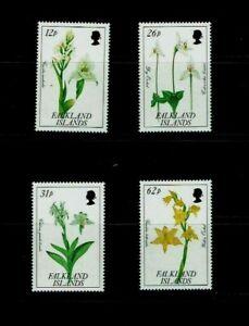 Falkland Islands:1991, Orchids, MNH set