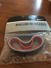 Nike Baller ID Bands Wristbands Bracelets New In Package Navy Grey Red