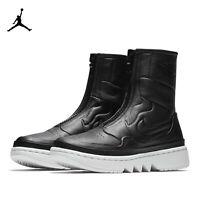 New Nike Air Jordan 1 Jester XX Boot Black / Sail  AQ7887-001 Women's Size 8