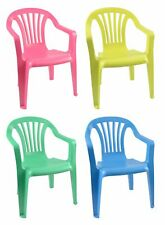Children Chairs Stacking High Kid's Kids' Furniture Garden