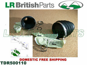 LAND ROVER FRONT DRIVESHAFT BOOT KIT RANGE ROVER SPORT LR3 LR4 NEW TDR500110