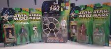 Anakin Oni-wan Gunner Han Solo Leia Star Wars Power of the Jedi /Force LOT Figur