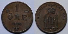 SUECIA.   1 ORE 1884.    EBC -.
