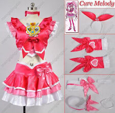 Suite Precure! Cure Melody Cosplay Costume Custom