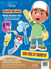 Disney Children's / Kids Collectors Wall Stickers - Handy Manny