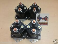 FOUR NEW WINCH SOLENOIDS Fits WARN 72631 28396 Solenoid Relay XD9000i 9.5ti
