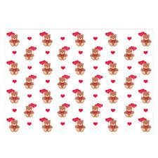 Valentine's Unique High Quality Teddy Bear Design Wrap-Size A3 (297x420mm)