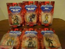 Masters Universe 6 pcs,  He Man Skeletor Teela Man at Arms Trap Jaw Triklops