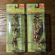 Ultimate Soldier 20207 Lot x 2 German DAK Africa Korps Series 1 Set A & B 1/32