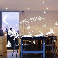 Christmas Sweet Decor Decal Christmas Stickers Window Decoration