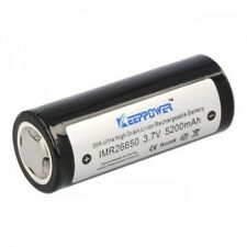 IMR26650 Accumulateur Lithium-Ion 26650 3.7V 5200mAh Rechargeable