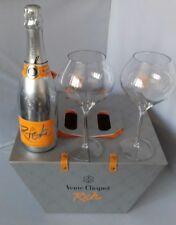 Veuve Clicquot Rich Pique-Set 750 ml avec 2 verres