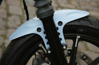 CUSTOM BOBBED CAFE RACER PARAFANGO ANTERIORE PER Harley Davidson Sportster Iron