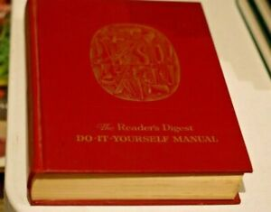 Reader's Digest Complete Do-it-Yourself Manual - Vintage 1st Aust edition 1965