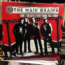 "The Main Grains - RED VINYL 10"" LP - Don't Believe What (2017) (The Wildhearts)"