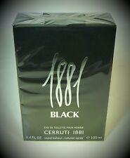 Cerruti 1881 Black  pour Homme 100 ml Eau de Toilette Spray