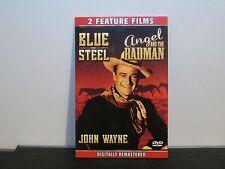 Blue Steel, Angel and the Badman, DVD, 2 feature films, Western, John Wayne