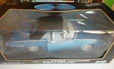 elly 1/18 Scale 1962 Ford Thunderbird Sports Roadster Die Cast Metal BLUE