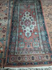 Hand Knotted soft Woollen Middle Eastern Rug Free P & P