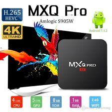 MXQ PRO Smart Set-top TV Box WIFI Media Player 4K Android 7.1