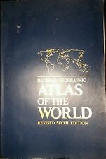 NATIONAL GEOGRAPHIC ATLAS OF THE WORLD 6TH EDITION Oversized Book