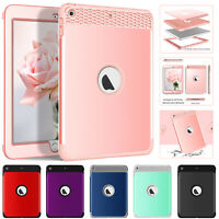 For iPad Mini 1 2 3 4 Shockproof Hybrid Rubber Tablet Case Rugged Back 7.9 Cover