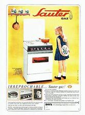 Publicité Advertising 067  1965  la cuisinière Sauter Automatique