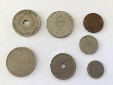 Monnaies  Lot de 7 pièces - Norvège