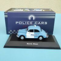 ATLAS Police Car Edition MORRIS MINOR POLICE GROßBRITANNIEN 1957 in OVP 1:43