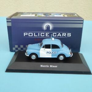 Atlas Police Car Edition Morris Minor Police United Kingdom 1957 IN Boxed 1:43