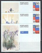 Liechtenstein - 1987 Stationary Card Set