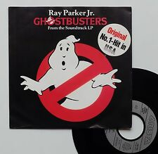 "Vinyle 45T Ray Parker Jr.  ""Ghosbusters"""