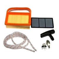 Air Filter Fuel-Filter Handle Primer Light Bulb Kit For Stihl TS410&TS420