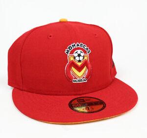 New Era Club Monarcas Morelia 59FIFTY Fitted Hat Gorra Cerrada Red