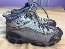 Oboz Women's Yellowstone Mid Hiking Boots US 6.5 M 37 EU Brown/Barley EUC