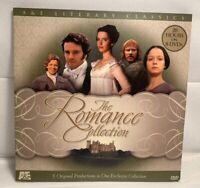 A&E Literary Classics Romance Collection Pride Prejudice Jane Eyre DVD Set