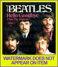 THE BEATLES HELLO GOODBYE I AM THE WALRUS 45 PICTURE SLEEVE #1