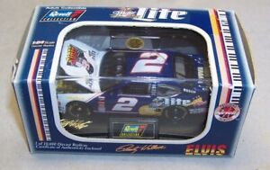 1:64 REVELL COLLECTION 1998 #2 MILLER LITE ELVIS PRESSLEY FORD RUSTY WALLACE NIB