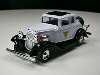 1932 Ford Coupe New Jersey State Police 1/64 Scale Diorama Car Rare