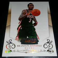 Brandon Jennings 2010-11 Panini Timeless Treasures GOLD PARALLEL Card (#d 09/10)