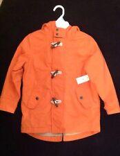 New With Tags Baby Gap Boys Orange Jacket Coat Size 5 Years