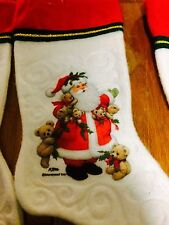 Christmas Stockings Assorted - Santa, Sesame Street, Bears