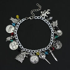 Game of Thrones bracelet A Song of Ice and Fire Charm Bracelet Silver