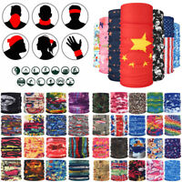 Summer Motorcycle Balaclava Neck Gaiter Snood Head Bandana Scarf Face Cover Wrap